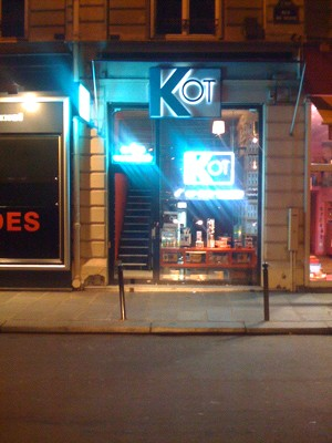 Probably on of Paris finest frozen food stores: KOT